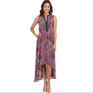🆕 Tolani Lydia dress in fuscia print 🌸